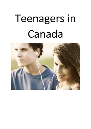 Teenagers in Canada (18 Dateien zusammengefügt)