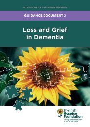 Loss and Grief in Dementia