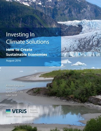 Investing In Climate Solutions