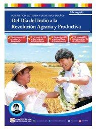Del Día del Indio a la Revolución Agraria y Productiva