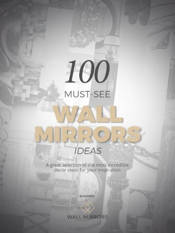 Wall Mirrors Ideas