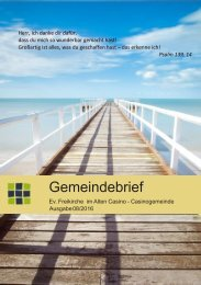 Gemeindebrief August2016