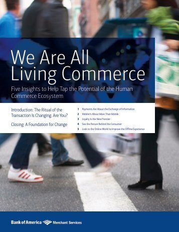 We Are All Living Commerce
