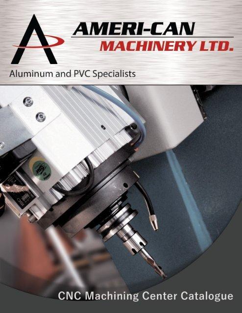 CNC Machining Center Catalogue