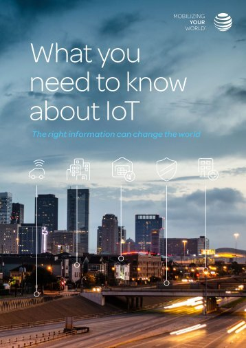 What you need to know about IoT