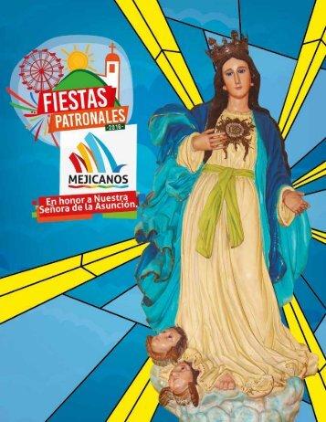 Fiestas patronales Mejicanos 2016