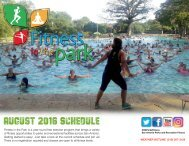 August 2016 Schedule