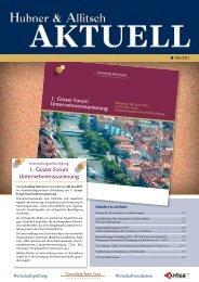 Download H&A Aktuell Mai 2011 - Hubner & Allitsch