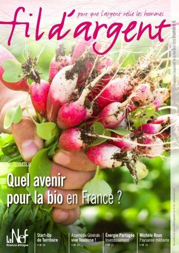 pour la bio en France ?