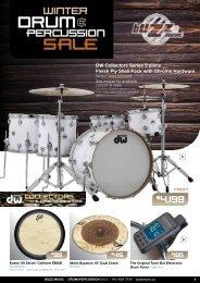 Buzz music Drum Catalogue 2016