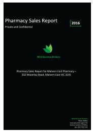 Malvern East Pharmacy Profile Flipbook