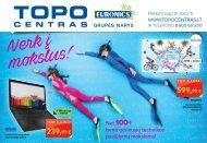 Topo centro katalogas   2016 rugpjūtis