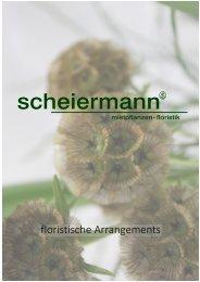 Scheiermann - florale Arrangements