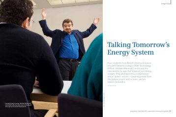 Talking Tomorrow's Energy System - Siemens