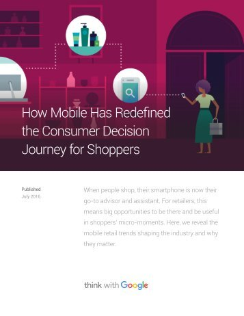 How Mobile Has Redefined the Consumer Decision Journey for Shoppers