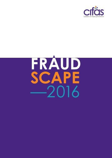 FRAUD SCAPE —2016