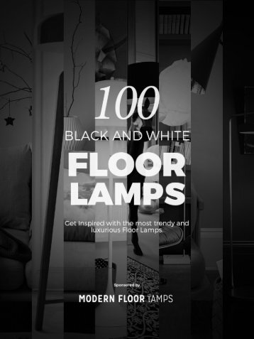 Black and White Floor Lamps