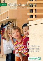 Waldverband aktuell - Ausgabe 2016-02
