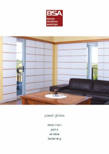 Blinds Shutters Awnings - Panel Glides