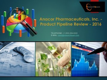 Anacor Pharmaceuticals, Inc. - Product Pipeline Review - 2016