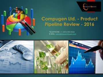 Compugen Ltd. - Product Pipeline Review - 2016