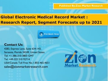 electronic medical record market