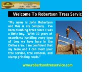 Stump Grinding Service in Dallas |Robertson Tree Service