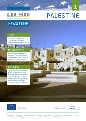 CES-MED in Palestine - Newsletter #1