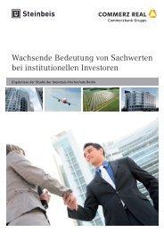 Sachwerte bei institutionellen Investoren - Commerz Real AG ...
