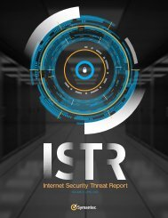 Internet Security Threat Report