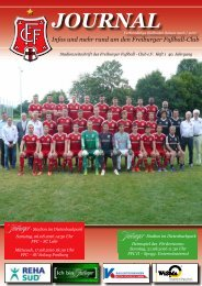 Heft 01 FFC - SC Lahr-SV Solvay