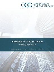 GCG_Firm Overview_Strategic Options Analysis (2016 08 03)