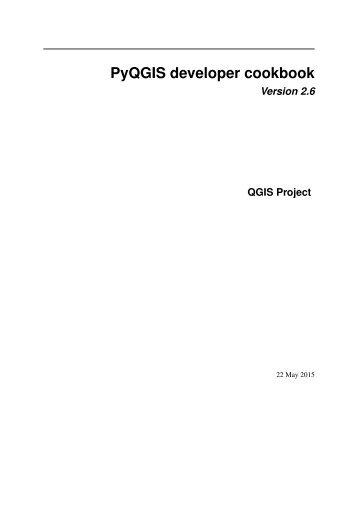 QGIS-2.6-PyQGISDeveloperCookbook-fr