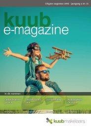 Kuub E-Magazine #23 / Augustus 2016