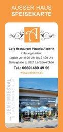Cafe Restaurant Adrienn Lanzenkirchen