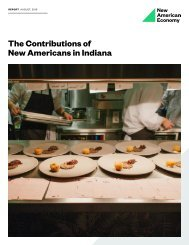 The Contributions of New Americans in Indiana