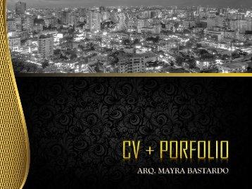 ARQ-MAYRA BASTARDO - CV+ PORFOLIO