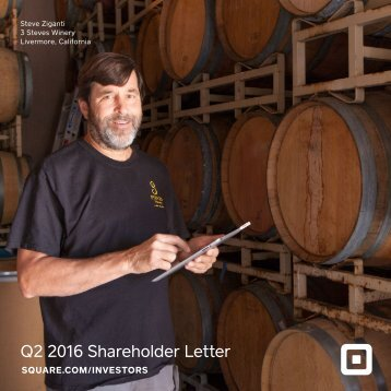 Q2 2016 Shareholder Letter