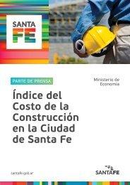 Índice del Costo de la Construcción en la Ciudad de Santa Fe