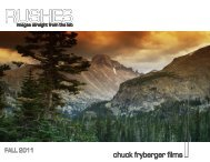 Our current work>>>>>pg. 3 - Chuck Fryberger Films