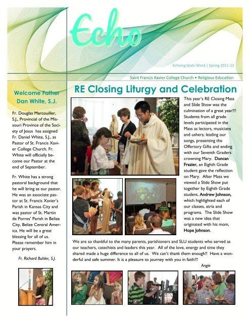 Slu 2020 Christmas Closing RE Closing Liturgy and Celebration   Saint Louis University