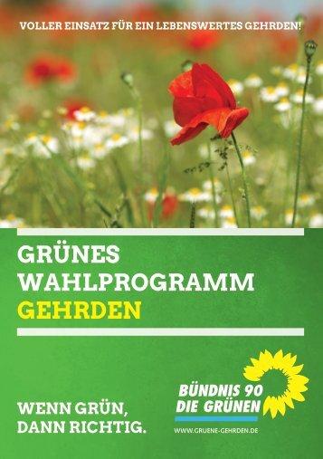 Wahlprogramm-Gehrden