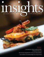 Insights - Saint Martin's University