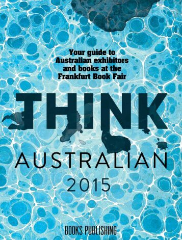 Your guide to Australian exhibitors and books at the Frankfurt Book Fair