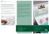Flyer - Ihr persönlicher HCI Online-Zugang
