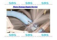 Water Damage Repair Service