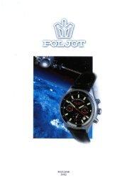 Catalogo Poljot 2002