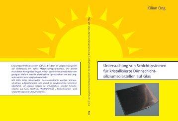 Kilian Ong Untersuchung von Schichtsystemen für kristallisierte ...