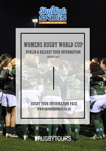 WOMENS RUGBY WORLD CUP #RUGBYTOURS