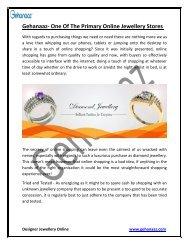 Gehanaaz- one of the primary online jewellery stores